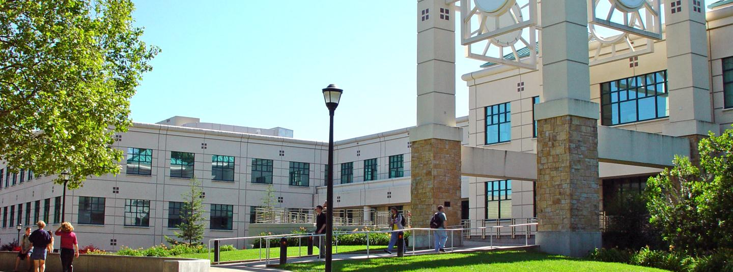 outside of library